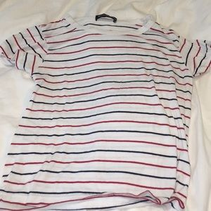 Tops - red white & blue striped top